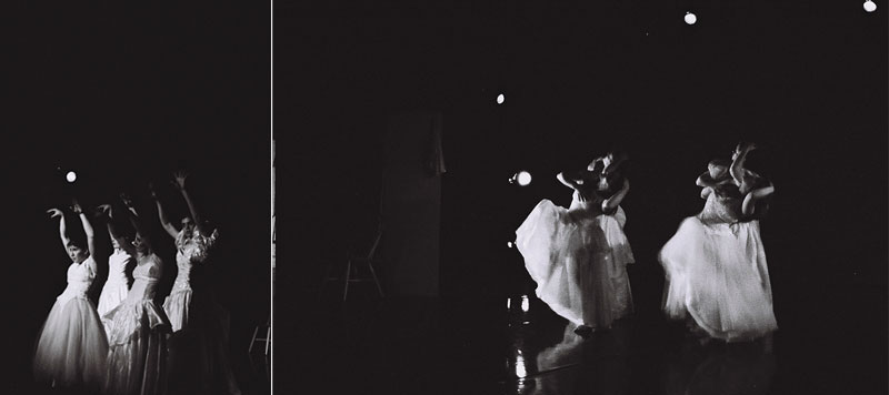 black and white dance photograph
